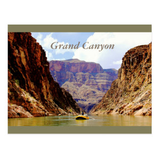 Carte Postale Bonjour du fond du canyon grand !