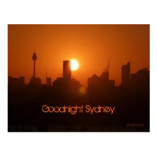 Carte Postale Bonne nuit Sydney