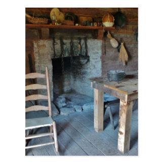 Carte Postale Bonne vieille Chambre de cuisinier de jours