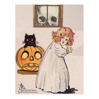 Carte Postale Boogeyman (carte vintage de Halloween)