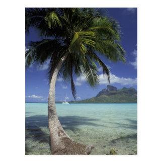 Carte Postale Bora Bora, Polynésie française Mt. Otemanu vu