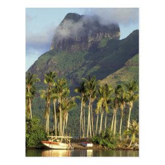 Carte Postale Bora Bora, scène de bord de mer de Polynésie