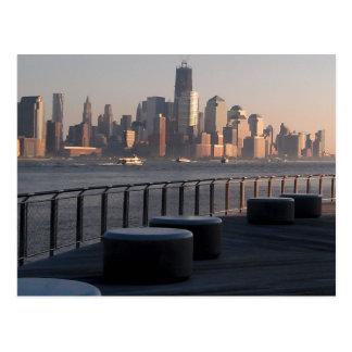 Carte Postale Bord de mer, Hoboken, New Jersey