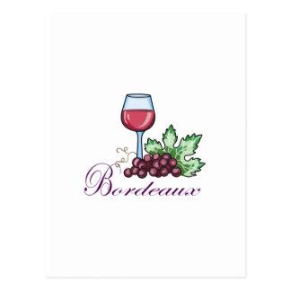 Carte Postale Bordeaux