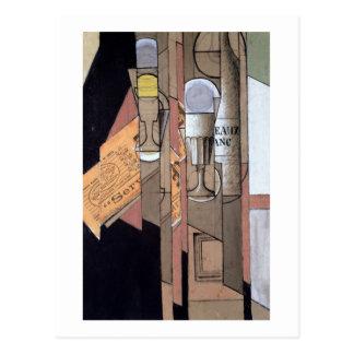 Carte Postale Bordeaux blanc, 1913 (gouache et crayon sur le