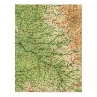 Carte Postale Bordeaux du sud-ouest de section de la France