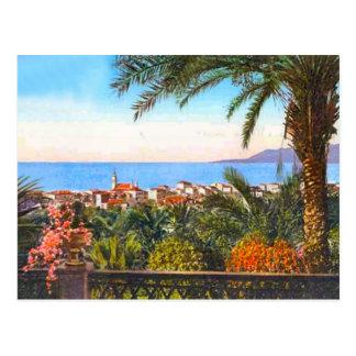 Carte Postale Bordighera, Italien la Riviera,