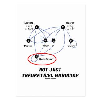 Carte Postale Boson de Higgs pas simplement théorique plus