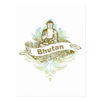 Carte Postale Bouddha Bhutan