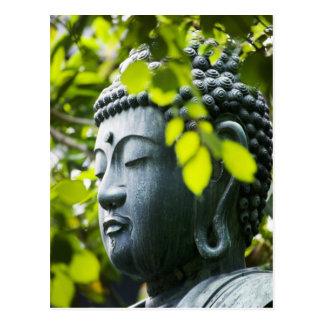 Carte Postale Bouddha dans le jardin de temple de Senso-JI