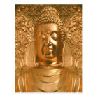 Carte Postale Bouddha d'or - impressionnant