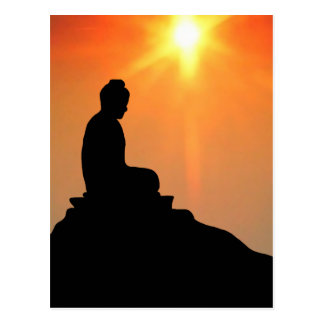 Carte Postale Bouddha méditant