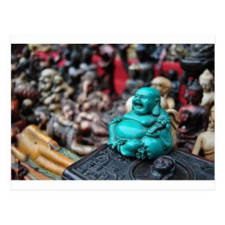 Carte Postale Bouddha riant heureux !