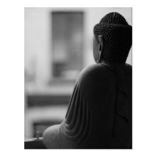 Carte Postale Bouddha s'asseyant dans la méditation