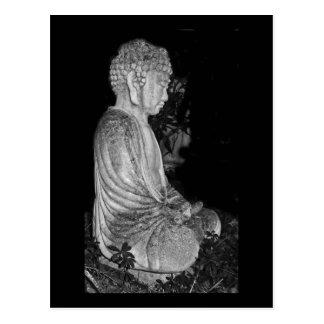 Carte Postale Bouddha [sculpture en jardin]