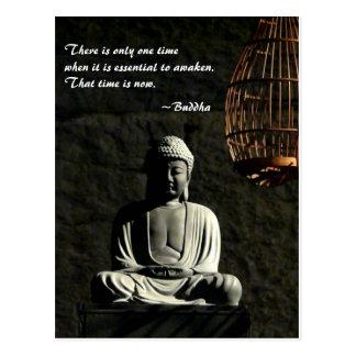 Carte Postale Bouddha se réveillent