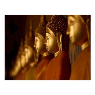 Carte Postale Bouddha Thaïlande Wat/sérénité tranquilité de