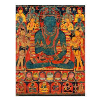 Carte Postale Bouddha transcendant du 13ème siècle avec des