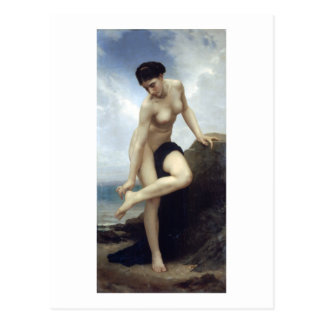 Carte Postale Bouguereau - Apres le Bain