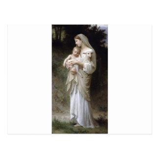 Carte Postale Bouguereau-Linnocence