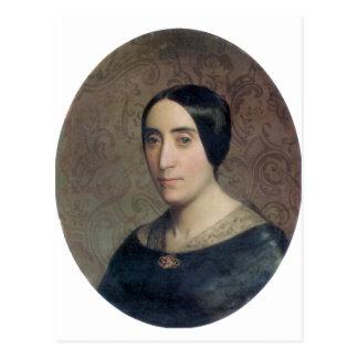 Carte Postale Bouguereau - Portrait de Amelina Dufaud Bouguereau