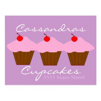 Carte Postale Boulangerie de petit gâteau