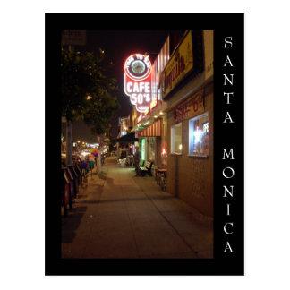 Carte Postale Boulevard de Santa Monica, Santa Monica la