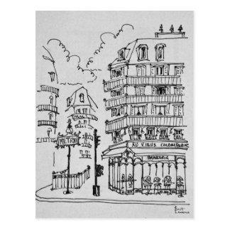 Carte Postale Boulevard Raspail | France de Vieux Colombier d'Au