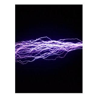 Carte Postale Boulon - milliers de volts