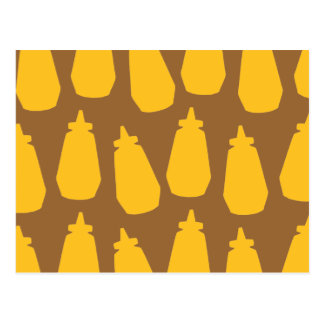 Carte Postale Bouteilles de moutarde