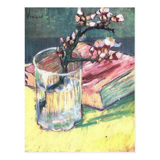 Carte Postale Branche se développante d'amande par Vincent van