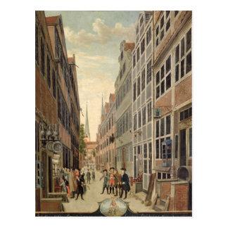 Carte Postale Brandstweite à Hambourg, 1775