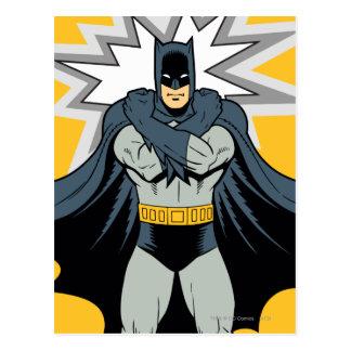 Carte Postale Bras croisés de Batman