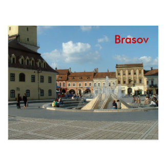 Carte Postale Brasov du centre