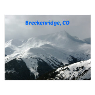 Carte Postale Breckenridge, Co