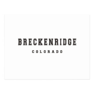 Carte Postale Breckenridge le Colorado