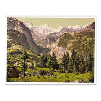 Carte Postale Breithorn de Wengen, Bernese Oberland, Switzerla