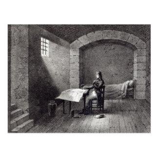 Carte Postale Brigadier général Bonaparte en prison
