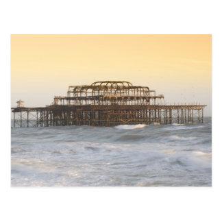 Carte Postale Brighton, Angleterre 3