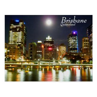 Carte Postale Brisbane la nuit