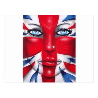 Carte Postale Britannia frais