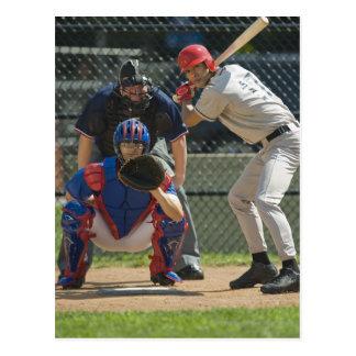 Carte Postale Broc, pâte lisse et arbitre de base-ball dans prêt