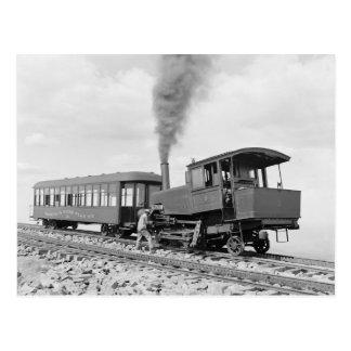Carte Postale Brochets Railway maximal, 1900