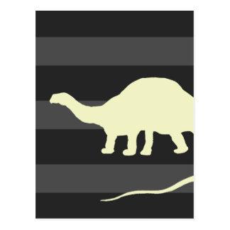 Carte Postale brontosaure