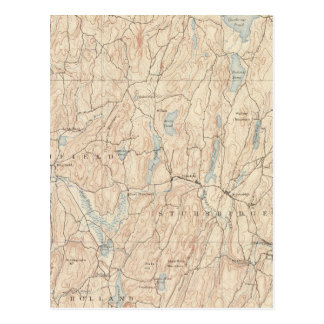 Carte Postale Brookfield, le Massachusetts