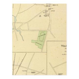 Carte Postale Brooklyn, Plainfield, centre de Windham