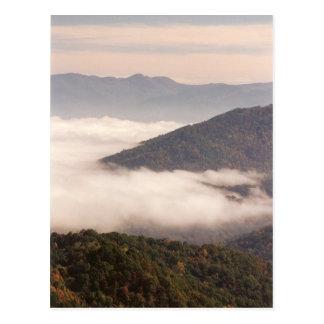 Carte Postale Brouillard appalachien