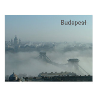 Carte Postale Brouillard au-dessus du Danube