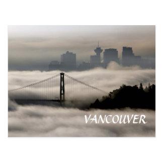 Carte Postale Brouillard de Vancouver