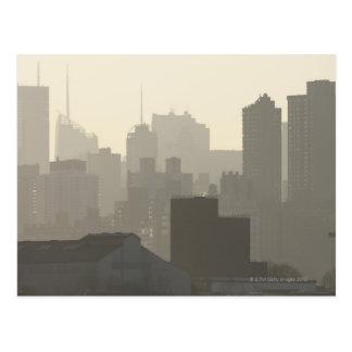 Carte Postale Brouillard de ville